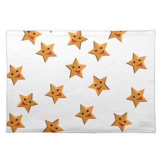 Happy stars placemat