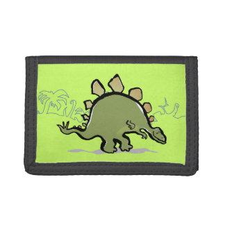 happy stegosaur wallet