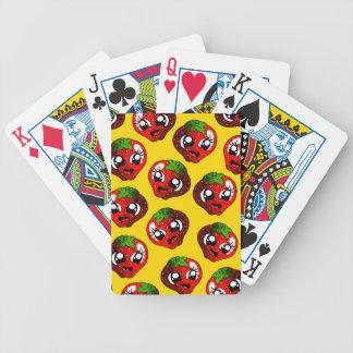Happy Strawberry Poker Deck