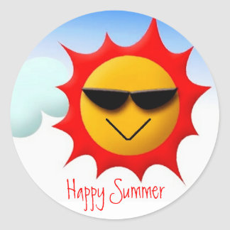 Happy Summer Sticker