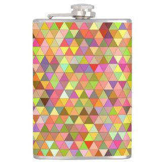 Happy summer triangles flasks