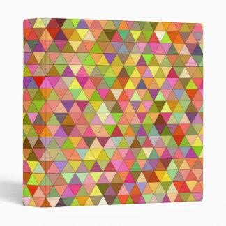 Happy summer triangles vinyl binders