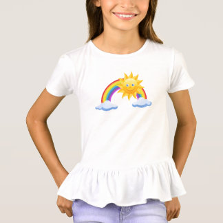 Happy Sun and Rainbow T-Shirt