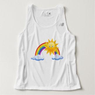 Happy Sun and Rainbow Tank Top