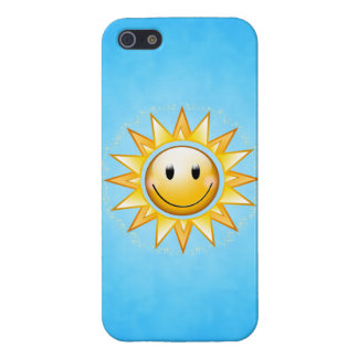 Happy Sun iPhone 5/5S Covers