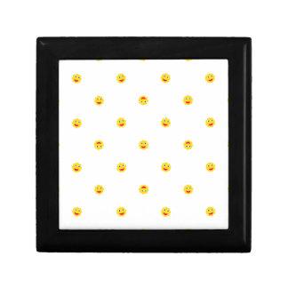 Happy Sun Motif Kids Pattern Gift Box