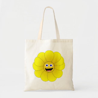 Happy Sunflower Tote Bag