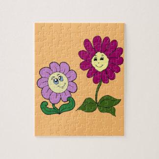 Happy Sunflowers Puzzle