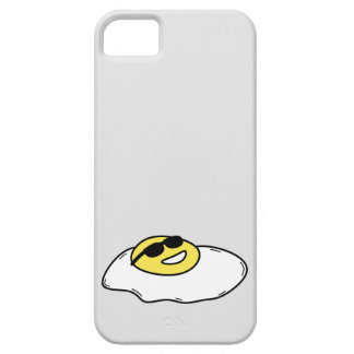 Happy Sunny Side Up Egg with Face - Sunglasses Case For The iPhone 5
