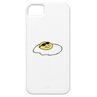 Happy Sunny Side Up Egg with Face - Sunglasses iPhone 5 Cover