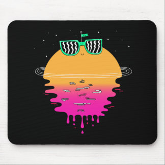Happy Sunset Mouse Pad