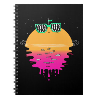 happy sunset notebook