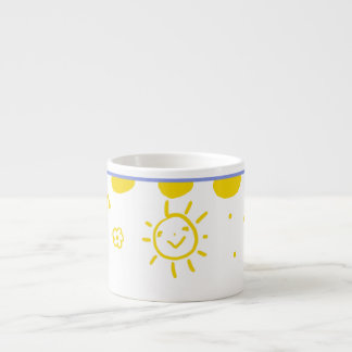 Happy sunshine cup in yellow