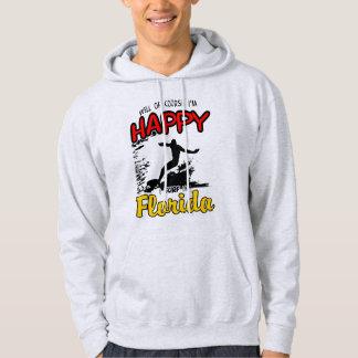 Happy SURF FLORIDA 2. Black Hoodie