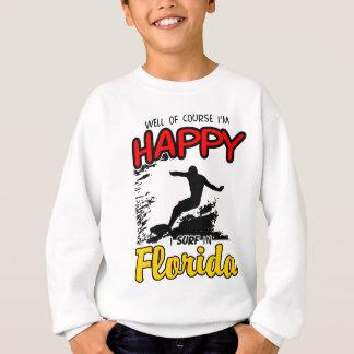 Happy SURF FLORIDA 2. Black Sweatshirt