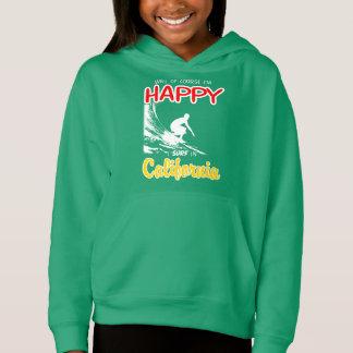 Happy Surfer CALIFORNIA (Wht)