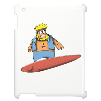 Happy Surfer iPad Cover
