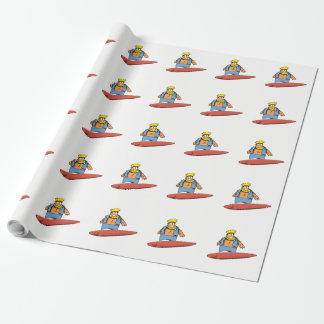 Happy Surfer Wrapping Paper