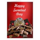 Happy Sweetest Day Chipmunk Card