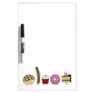 Happy Sweets Dry-Erase Whiteboards