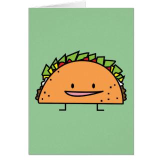 Happy Taco Card