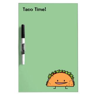 Happy Taco Dry Erase Board