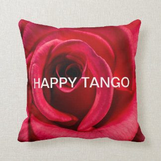 HAPPY TANGO RED ROSE Pillow