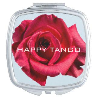 HAPPY TANGO Trinket Mirror