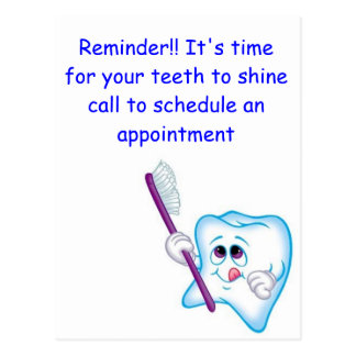 Happy Teeth Postcard