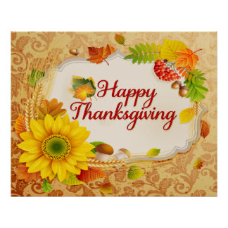 Happy Thanksgiving 13 Poster