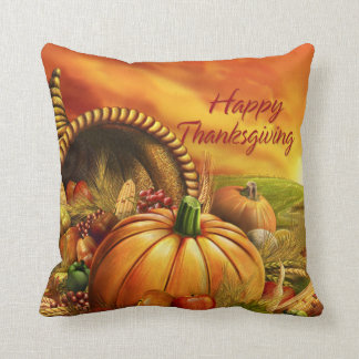 Happy Thanksgiving 2 Pillows Options