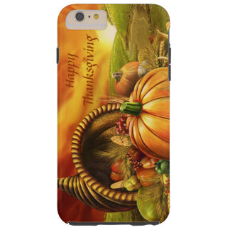 Happy Thanksgiving 2 Tough iPhone 6 Plus Case