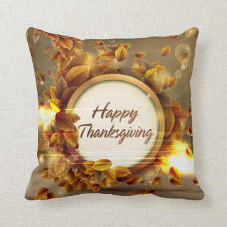 Happy Thanksgiving 3 Pillow