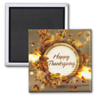 Happy Thanksgiving 3A Magnet