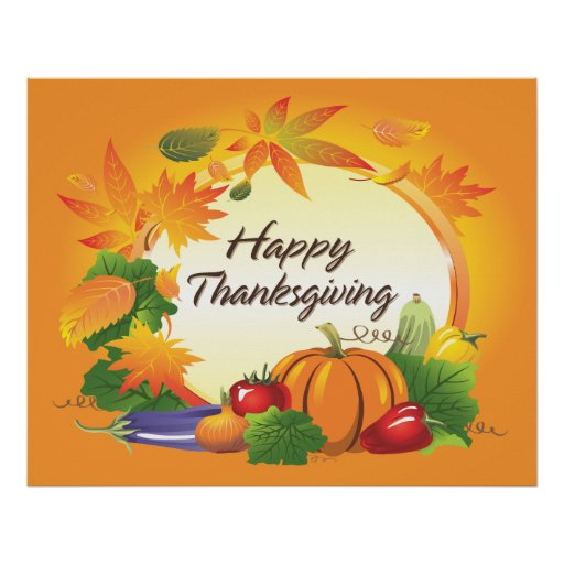 Happy Thanksgiving 5 Poster