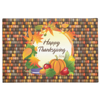 Happy Thanksgiving 5A-13A Options Doormat