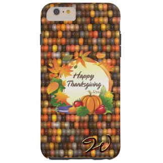 Happy Thanksgiving 5A-13A Options Tough iPhone 6 Plus Case