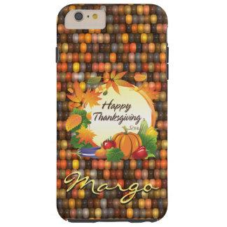 Happy Thanksgiving 5A & Corn Tough iPhone 6 Plus Case