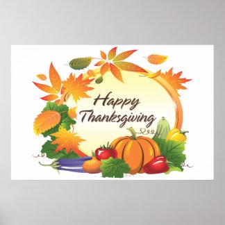 Happy Thanksgiving 5B Poster