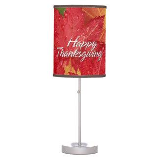 Happy Thanksgiving 8 Lamp
