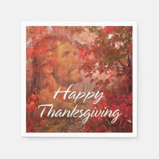 Happy Thanksgiving 9 Options Disposable Napkins