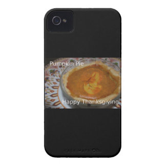 Happy Thanksgiving And Pumpkin Pie iPhone 4 Case-Mate Cases