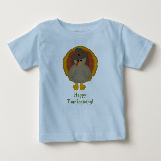 Happy Thanksgiving Baby Tshirt