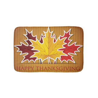 Happy Thanksgiving! Bath Mat