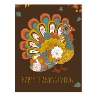 Browse the Thanksgiving Postcards Collection and personalize by color, design, or style.