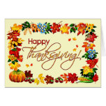 HAPPY THANKSGIVING by SHARON SHARPE Cards