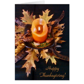 """""""Happy Thanksgiving!"""" card"""