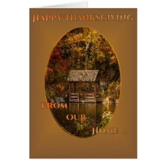 Happy Thanksgiving Day (change text) Card