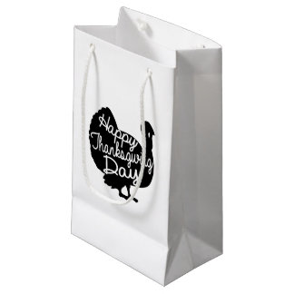 Happy Thanksgiving Day Small Gift Bag