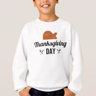 Happy Thanksgiving Day Turkey Sweatshirt